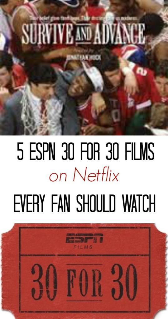 5 ESPN 30 for 30 Films on Netflix Every Fan Should Watch ...