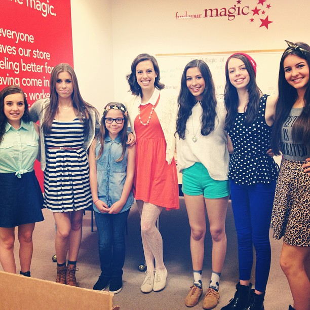 Cimorelli Back to School with Radio Disney & Macy's