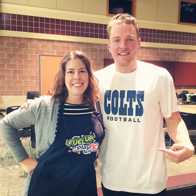 Pat McAfee and Angie Six Fuel Up To Play 60