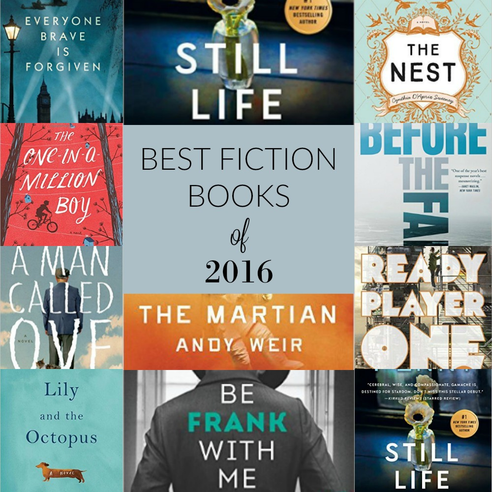 Best Fiction Books of 2016