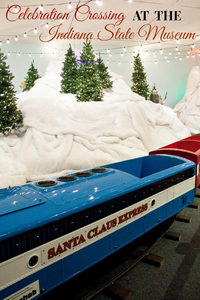 Celebration Crossing at the Indiana State Museum: a modern Christmas tradition with a vintage twist. Make this a stop on your Midwest travel itinerary, especially with kids!