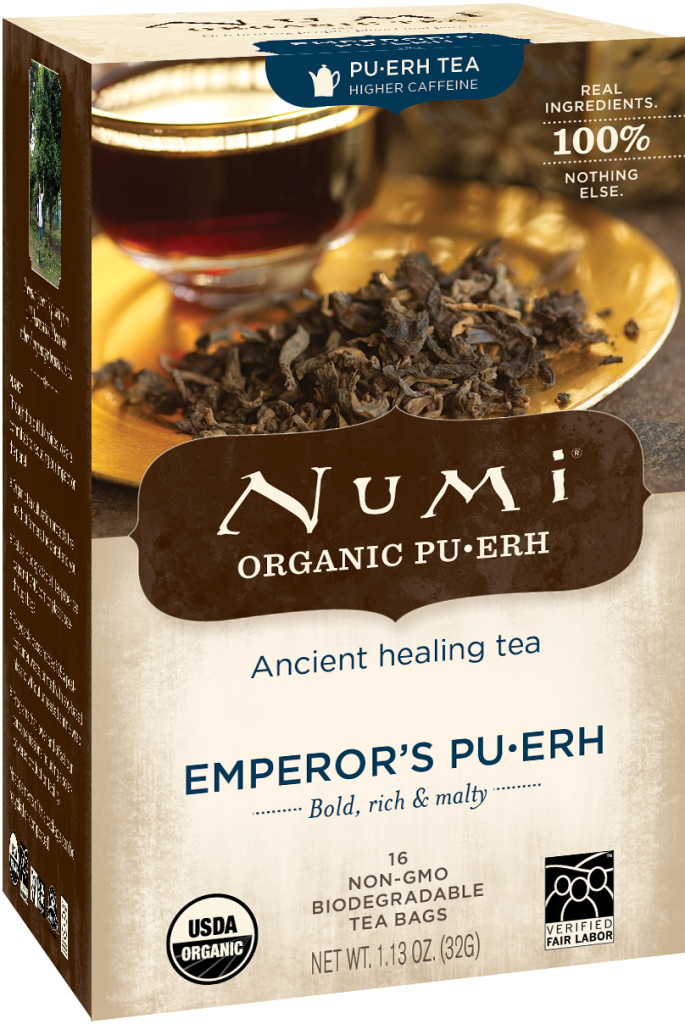 Numi Emperor's Puerh Tea