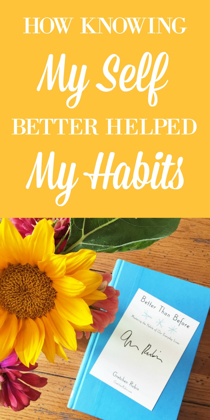 Gretchen Rubin's book, along with her quiz on the Four Tendencies, helped me overcome personal hurdles and form a long-term exercise habit. Know yourself better and make healthy habits stick!
