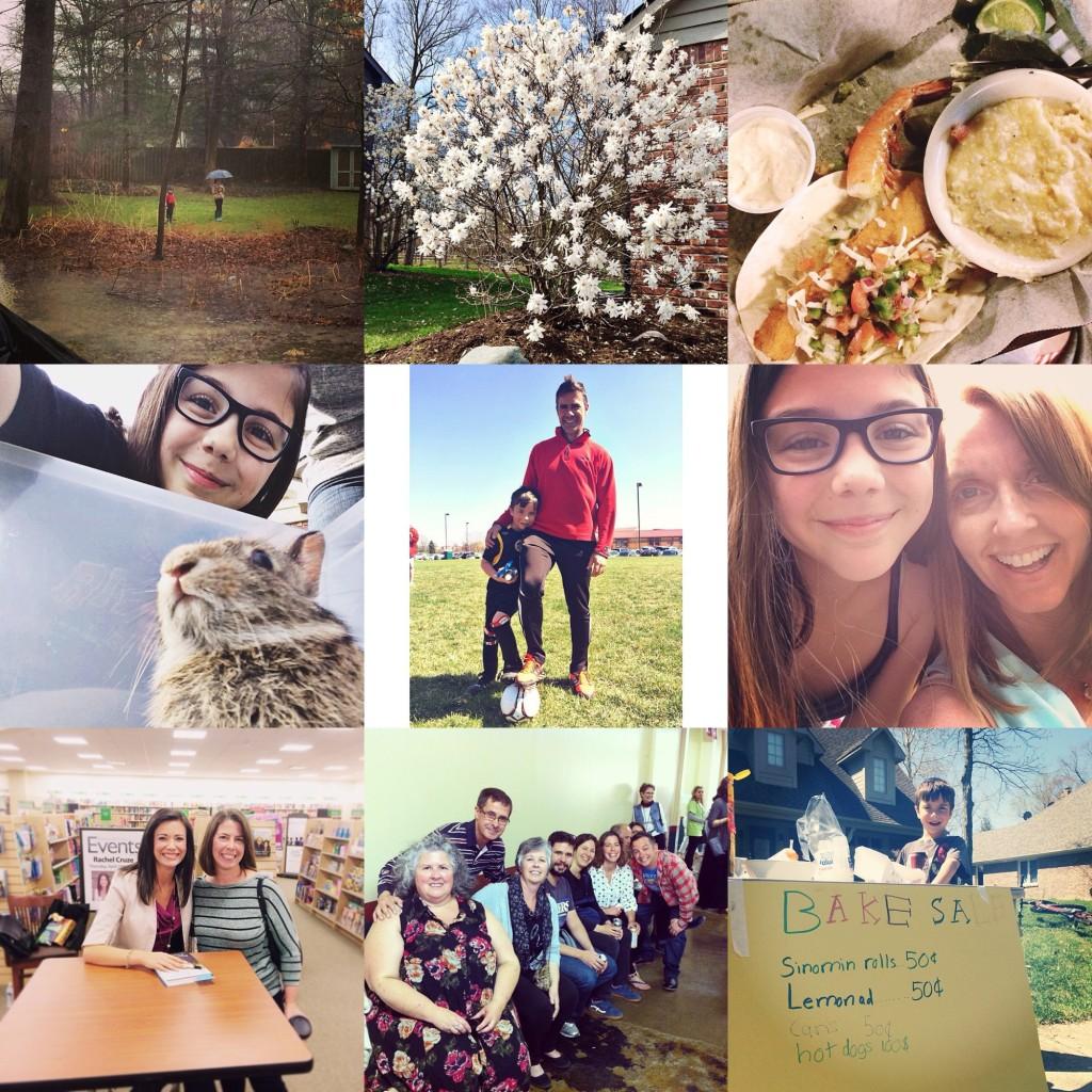 Angie Six Instagram April