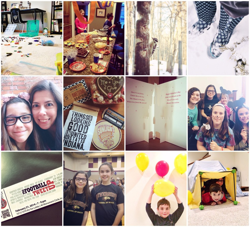 February in an Instagram by AngieSix