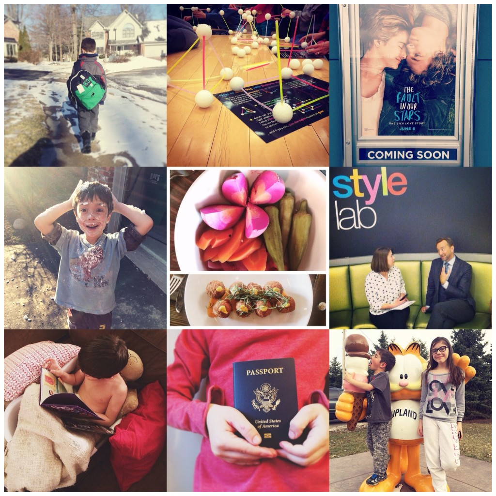 Instagram Collage March Angie Six
