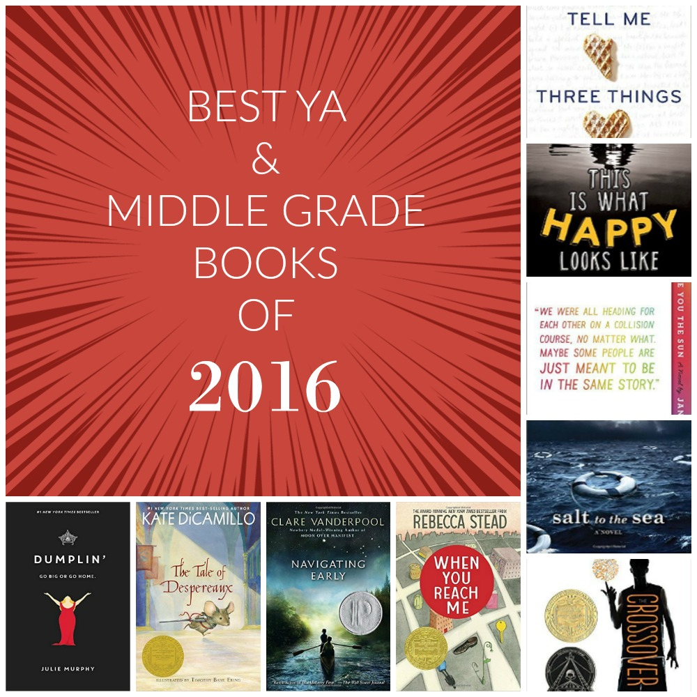 Best YA and Middle Grade Books of 2016