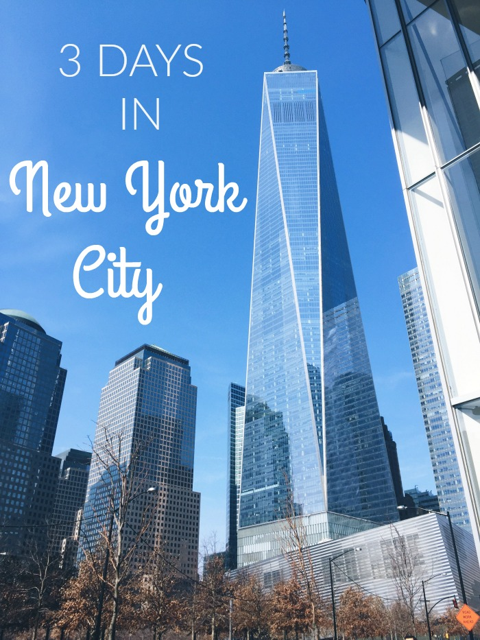 Traveling to New York City for a weekend or quick trip? See how I spent 3 days in NYC with tips on what to see, where to shop, where to stay, and (most importantly!) what to eat! Travel | Solo Travel | USA Travel