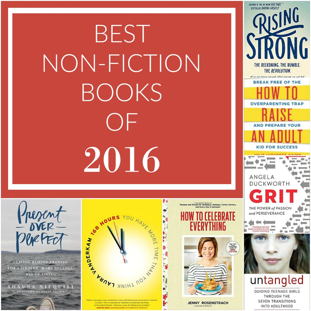 These 7 non-fiction books changed my life for the better in 2016.