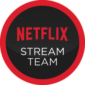 Netflix StreamTeamBadge