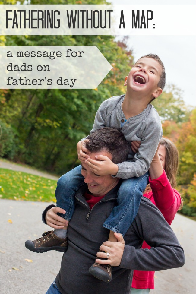 Appreciating modern dads and the struggle they feel to be the perfect father, partner, and breadwinner in a way their dads never worried about. Father's Day | Fathering | Parenting | Father's Day Appreciation