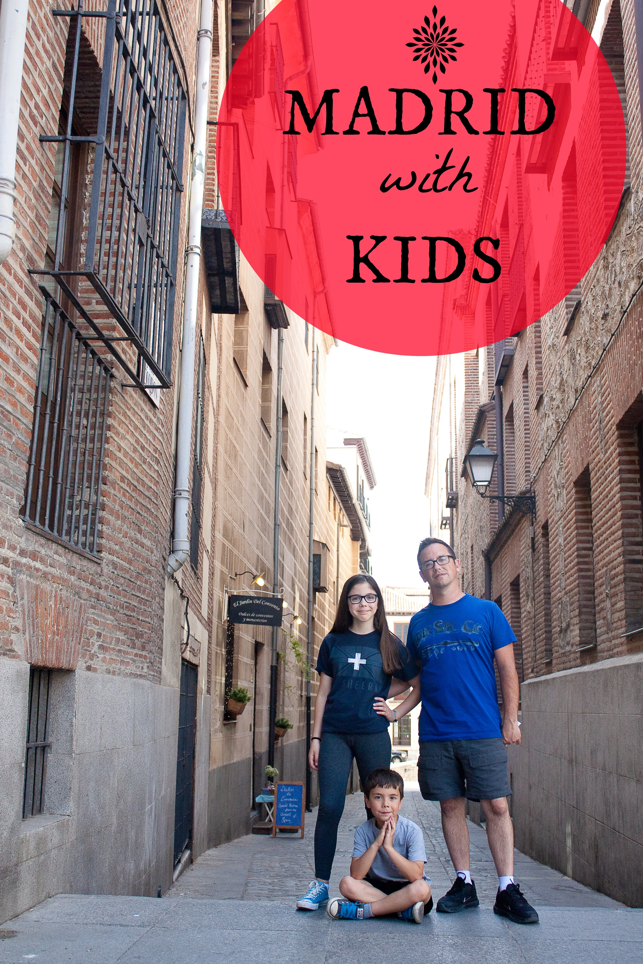 madrid with kids and tweens