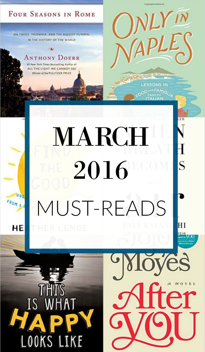 The best books I read in March in fiction, non-fiction, YA and children's literature.