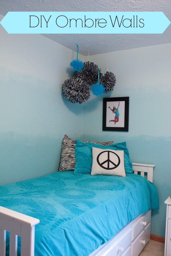 Do It Yourself Home Decorating Ideas: How To Paint An Ombré Wall